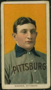 The Honus Wagner T-206 card is incredibly rare and even more valuable, selling for upwards of $2 million.